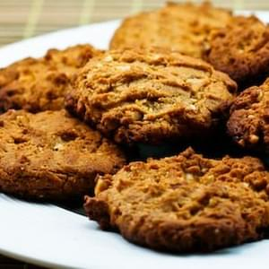 Sugar-Free and Gluten-Free Triple Almond Cookies