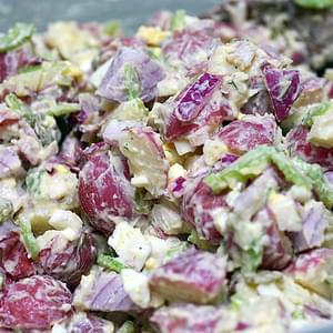 Gordon Ramsay's New Potato Crab Salad Recipe