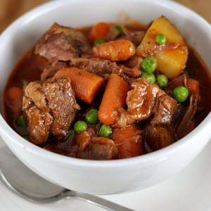 Hearty Beef Stew {Slow Cooker}