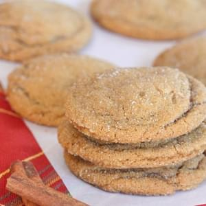 Brown Butter Soft Batch Style Gingersnaps