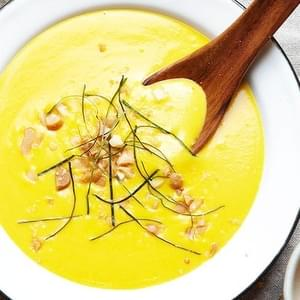 Thai-style Pumpkin And Coconut Cream Soup