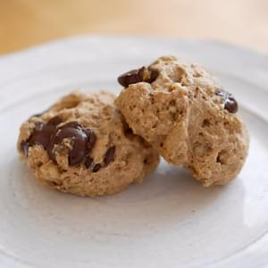 Single Serving – Healthy Chocolate Chip Cookies (oil and sugar free)