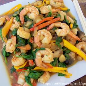 Chili Shrimp and Asparagus Stir Fry Recipe