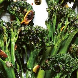 Charred Broccolini With Garlic-Caper Sauce