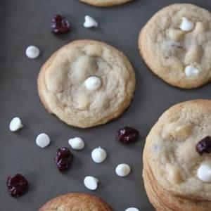 Cherry Vanilla Cookies White Chocolate Chips
