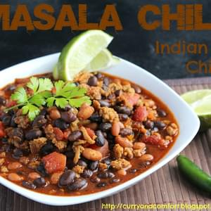 Masala Chili (Indian Spiced Chili)