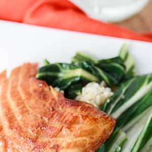 Salmon Honey Teriyaki