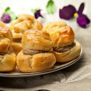 Choux Pastry Chopped Liver Puffs