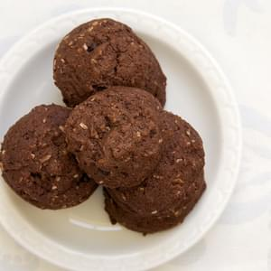 Cranberry-Coconut Chocolate Cookies