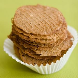 Thin & Crispy Chocolate Wafer Cookies Recipe