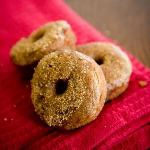 Apple Cider Doughnuts with Honey Glaze – Rosh Hashana
