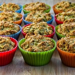 Savory Whole Wheat Zucchini Muffins with Feta, Parmesan ...
