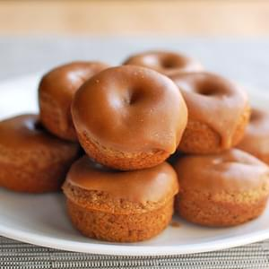 Baked Gingerbread Mini Donuts