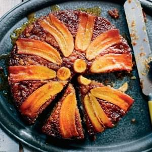 Banana Upside-Down Cake