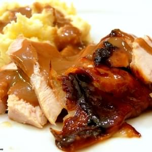 Roasted Maple Glazed Turkey Breast