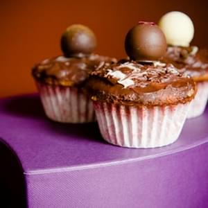 The Ultimate Truffle Cupcake