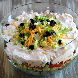 Tex Mex Layered Salad