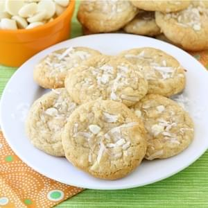 Coconut White Chocolate Chunk Cookies