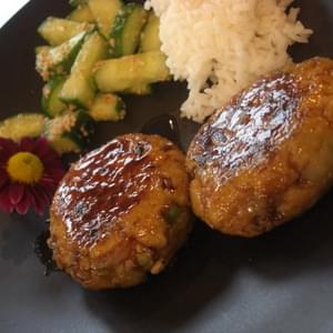 Teriyaki Tofu Patties