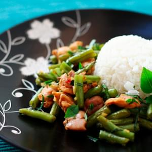 Chicken & Basil Stir-Fry