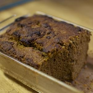 Whole Wheat Spiced Applesauce Bread