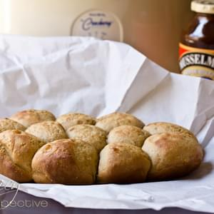 Apple Butter Yeast Rolls