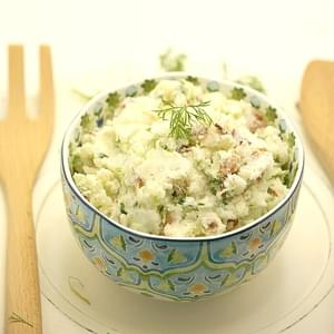 German Potato Salad with Cucumber and Dill