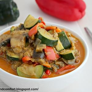 Spicy Ratatouille Curry (Throwback Thursday)