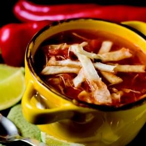 Tortilla Soup (Mexican Chicken Soup)