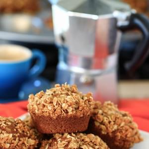 Whole Wheat Pumpkin Spice Muffins