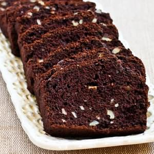 Low Sugar and Whole Wheat Chocolate Zucchini Bread