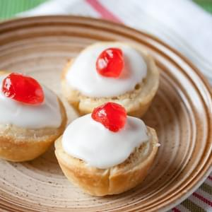 Mini Cherry Bakewell Tarts