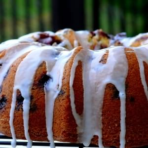 Blueberry-Lime Pound Cake
