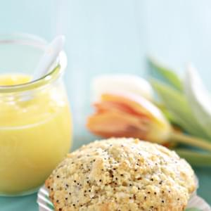 Coconut Lemon Poppy Seed Muffins