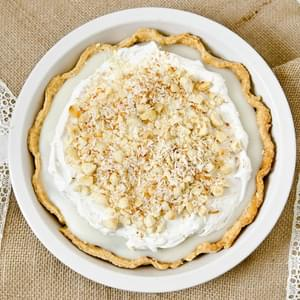 Vegan Chocolate Coconut Cream Pie