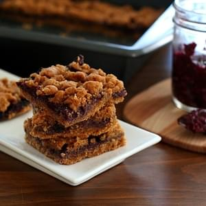 Peanut Butter & Jam Bars – Low Carb and Gluten-Free
