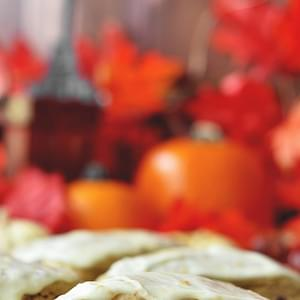 Pumpkin Cranberry Scones