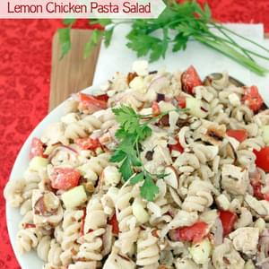 Lemon Chicken Pasta Salad