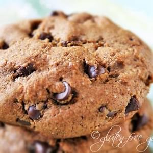 Chocolate Chip Espresso Cookie Recipe- Vegan and Gluten-Free
