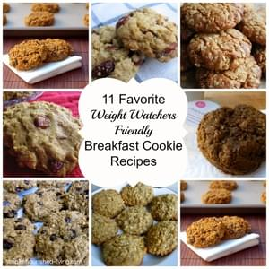Skinny Pumpkin Oatmeal Breakfast Cookies