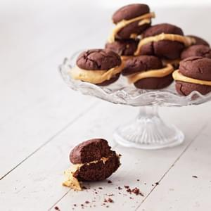 Whoopie Pies with Salted Dulce de Leche