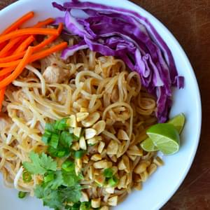 Easy Pad Thai with Chicken