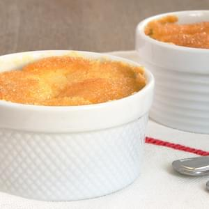 Meyer Lemon Pudding Cakes