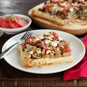 Wild Mushroom and Crescenza Pizza Recipe