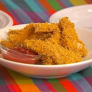 Crunchy Panko Crusted Chicken Fingers
