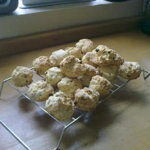 Scones for Sheila's 80th