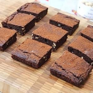 Protein Chocolate Hazelnut Brownies