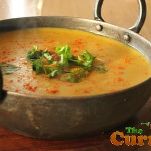 Chana Dhal – Yellow Split Lentils – A Popular Curry House Side Dish