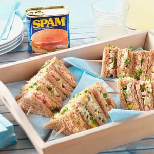 *Spam with Mustard Mayo Sandwich*