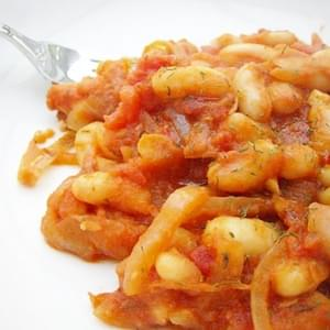 Giant Beans in Tomato Sauce (Greece)
